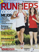 Portada de la revista de atletismo Runner's World.
